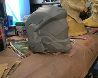 Replica halo 4 odst helmet raw cast