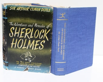 The Adventures and Memoirs of Sherlock Holmes  by Arthur Conan Doyle - The Modern Library  1963