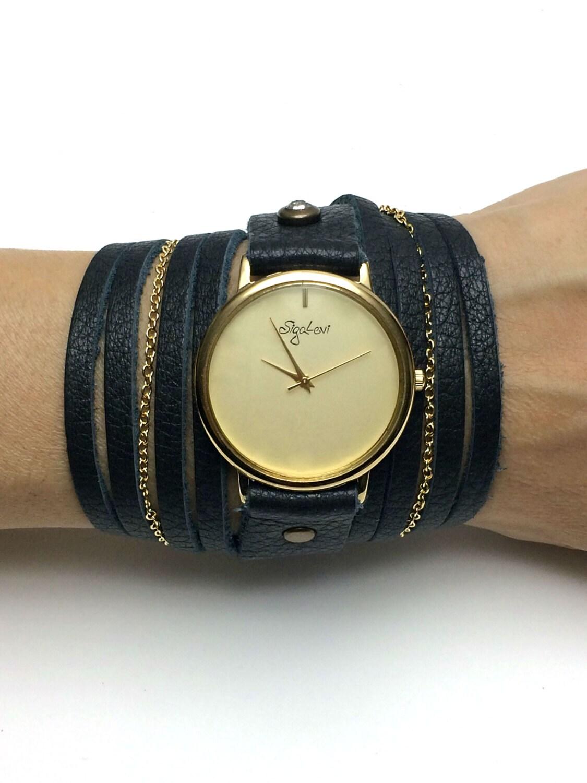 black wrap watches wrap wrap around