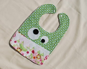 MoNsTeR Baby Bib - Girl