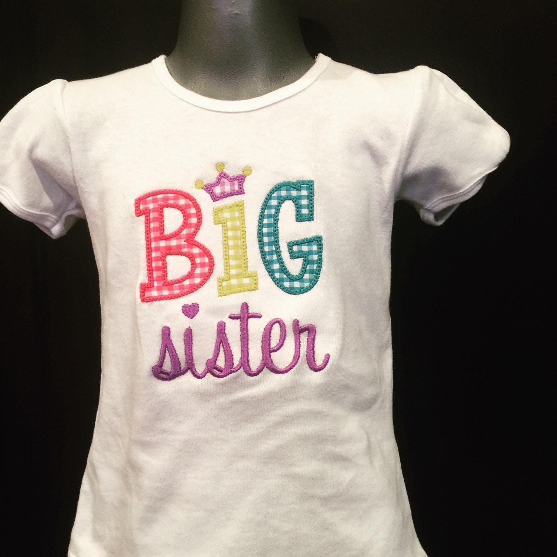 big sister shirt big sister t big sister tee big sister. Black Bedroom Furniture Sets. Home Design Ideas