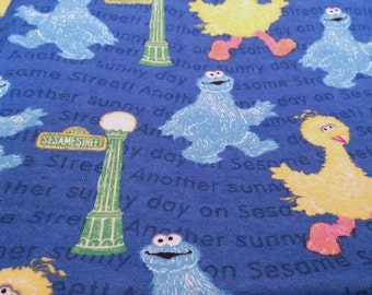 Sesame Street Swaddling Blanket, Sesame Street Receiving blanket, Cookie Monster blanket, Big Bird blanket, Baby Blanket, Baby shower gifts