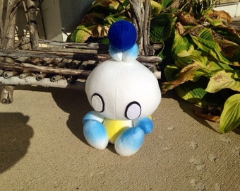 Handmade Sonic the Hedgehog Hero Chao Plush + Halo