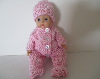 """5 piece set for 8"""" baby doll"""