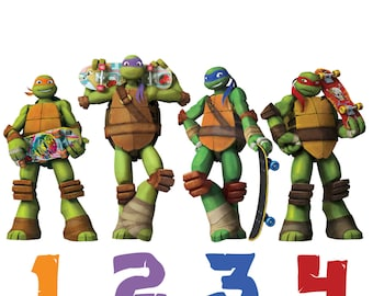TMNT Removable Wall Decal
