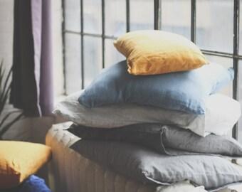 Linen Pillow Cases (Set of 2)