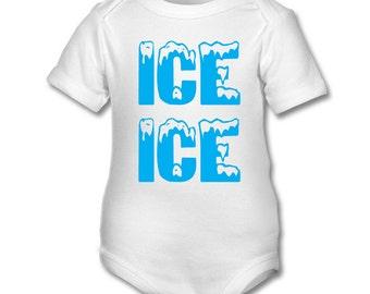ICE ICE BABY onsie,babygrow