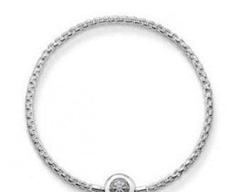 bracelet charms argent karma beads,Bracelet Charm,breloques européens,Bracelet européen,pendentif, Style Européen à breloques