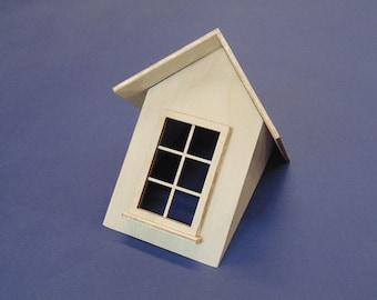 Dollhouse Miniature 1:12 Roof Dormer