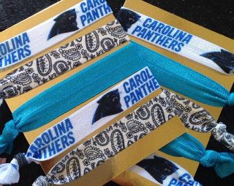 Carolina Panthers inspired tie set of 5