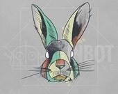 Animals - Rabbit Print