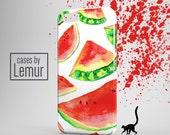 WATERMELON Iphone 6S case Watermelon Print Iphone 6S Plus Case Fruit Print Iphone 6 case Hipster Iphone 5C Case Trendy Phone Case Best Gift