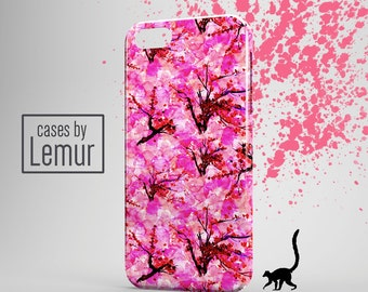 FLORAL Iphone 6s case Watercolor Iphone 6S Plus case Cherry Blossom Iphone 6 plus case Pink Iphone 6 case Iphone 5 Case Japanese Iphone 5c