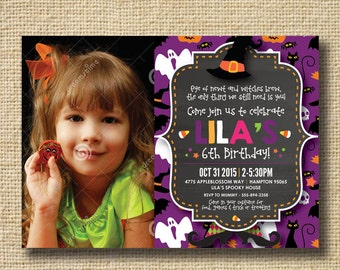 Halloween Party Invitation, Halloween Costume Party Invitation, Birthday, Halloween Invitation, Halloween Party, Halloween Birthday Party