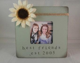 Best Friend gift, friends frame