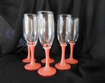Embellished Champagne Flute