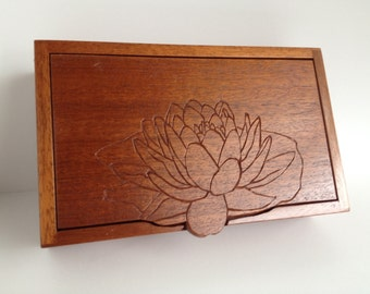 Lilly blossom jewelry box