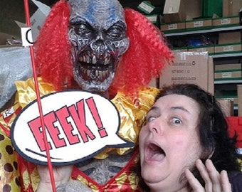Eeek Halloween Photo Booth Speech Bubble Prop 013-824