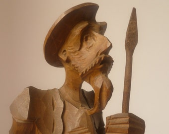 Spanish carved soldier