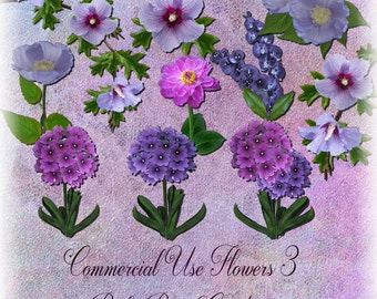 Commercial Use Flowers 3
