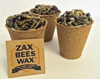 All Natural Beeswax Fire Starters | Zax Beeswax