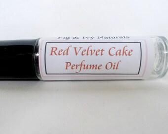 Red Velvet Cake Perfume Oil - Bakery Fragrance