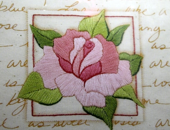 Embroidery Kit Beginner39s Embroidery Kit Sweet Rose