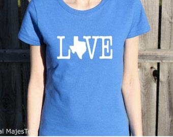 Love Texas Shirt