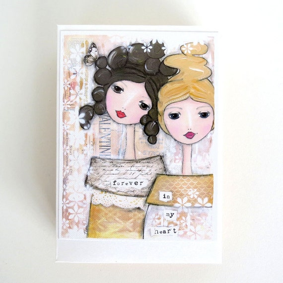 7 Personalized Birthday Presents For Your Best Friend: Soul Sister Card Unique Sister Gift Best By