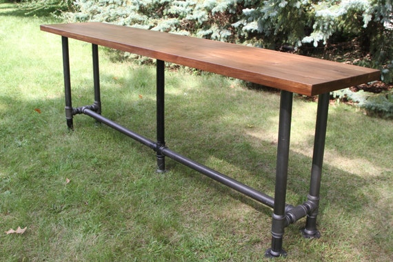 The Foundry Table Reclaimed Bar Table Hardwood Solid American