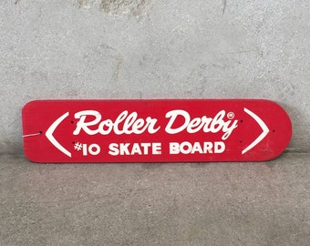 Roller Derby Skate Board #10 - Blanks