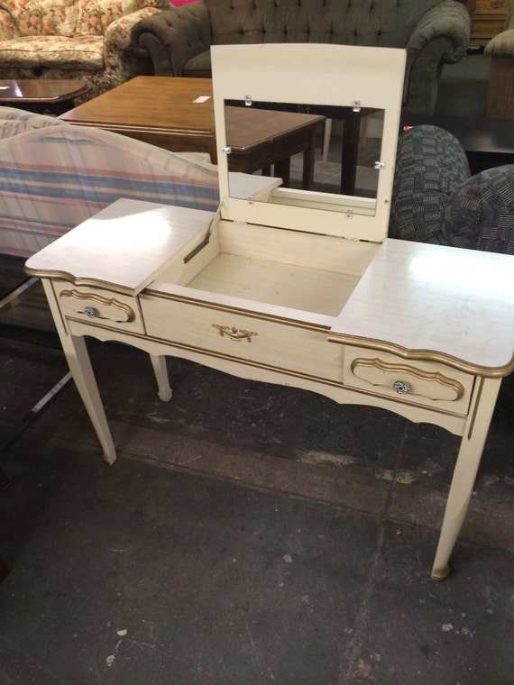 1970s Sears French Provincial Vanity