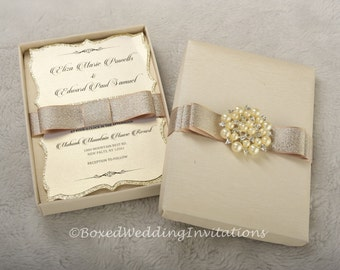 Couture Invitation Box