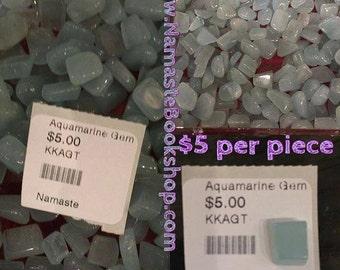 Gem Quality Tumbled Aquamarine Aqua Marine