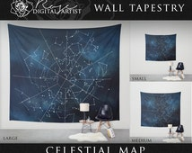 Celestial Map - Wall Tapestry