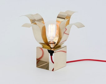LJ LAMPS open PSI - luminaire made of brass