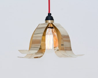 LJ LAMPS PSI open up - pendant in brass
