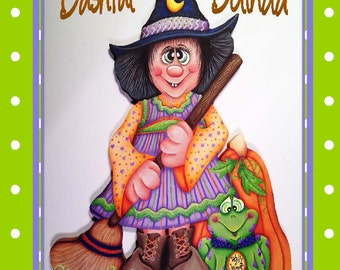 Bashful Belinda Witch--ePattern Packet by Sharon Cook