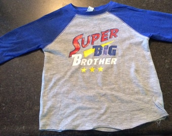 Toddler Shirt~ Super Big Brother