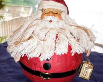Round Santa