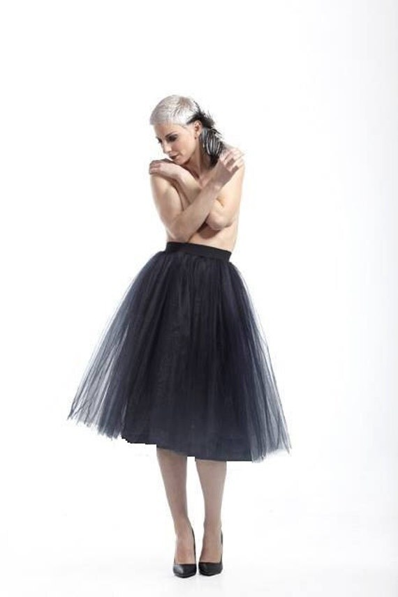 how to wear a tulle skirt plus size