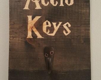 Accio Keys,harry potter,key holder,car key holder