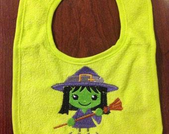 Baby Witch bib