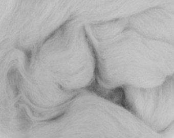 Extra fine Merino wool roving, Cloud, 19 micron, 100 grams/3.5 oz.