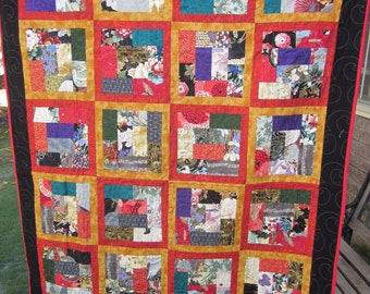 Orient Express Quilt Throw or Wall Hanging