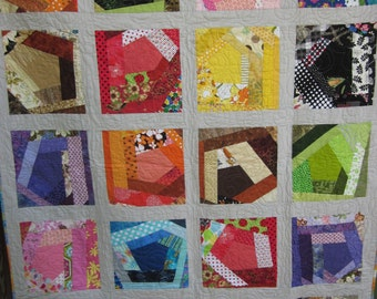 Color My World Crazy Quilt