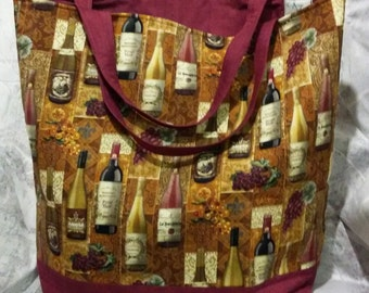 Wine lovers Tote