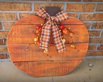 Decorative Fall Pumpkin Reclaimed Wood!