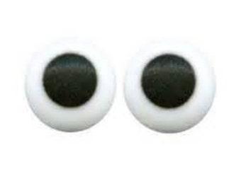 """Royal Icing Eyes 1/2"""" Diameter"""
