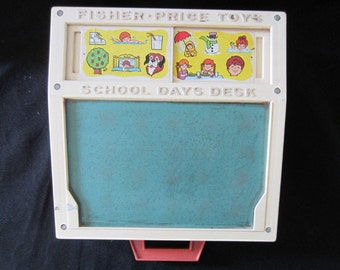 Vintage Fisher Price School Desk
